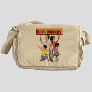 Bob's Burger Hero Family Messenger Bag