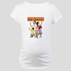 Bob's Burger Hero Family Maternity T-Shirt