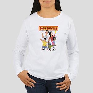 Bob's Burger Hero Fami Women's Long Sleeve T-Shirt