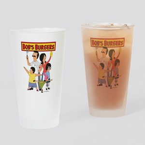 Bob's Burger Hero Family Drinking Glass