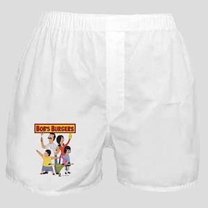 Bob's Burger Hero Family Boxer Shorts