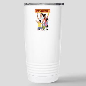 Bob's Burger Hero Famil Stainless Steel Travel Mug
