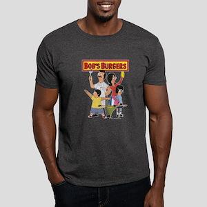 Bob's Burger Hero Family Dark T-Shirt