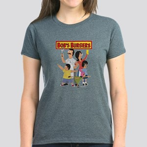 Bob's Burger Hero Family Women's Dark T-Shirt