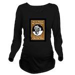Jekyll Hyde 8 Ball B Long Sleeve Maternity T-Shirt