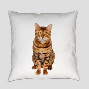Amazing Bengal Kitten Everyday Pillow