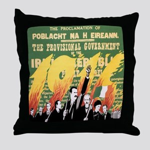 Easter Rising Proclamation Throw Pillow