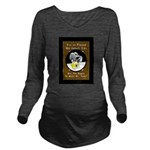 Jekyll Hyde 9 Ball B Long Sleeve Maternity T-Shirt