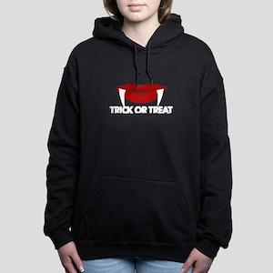 Trick Or Treat Vampire L Women's Hooded Sweatshirt