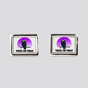 Trick Or Treat Rectangular Cufflinks