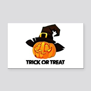 Trick Or Treat Rectangle Car Magnet
