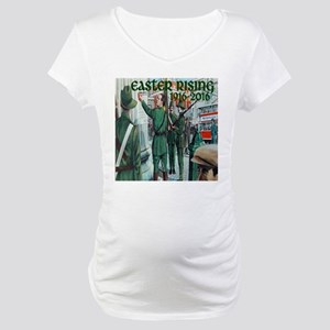 Easter Rising Proclamation 2 Maternity T-Shirt