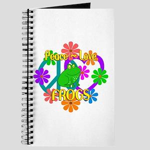 Peace Love Frogs Journal