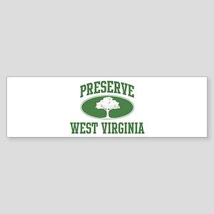 Preserve West Virginia Bumper Sticker