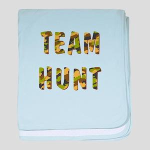 TEAM HUNT baby blanket