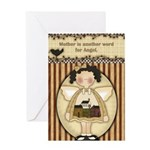 Mother Angel Greeting Card