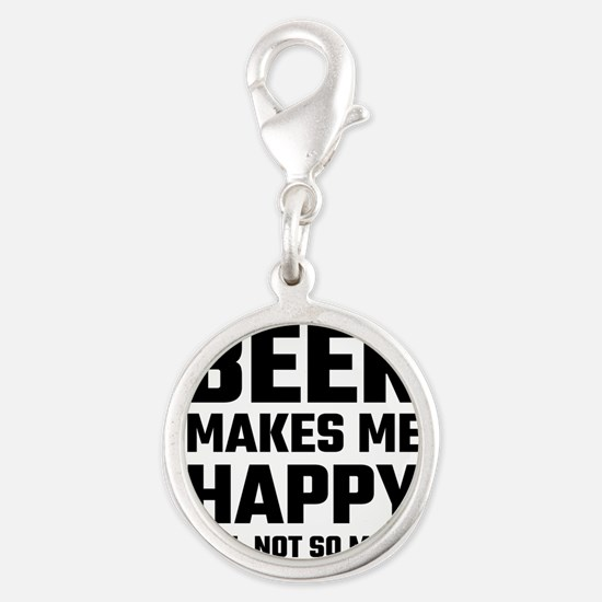 Beer Makes Me Happy Charms