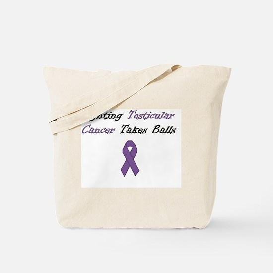 Testicular Cancer Awareness Tote Bag