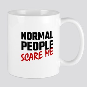 Normal People Scare Me Mugs