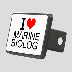 I Love Marine Biology Hitch Cover