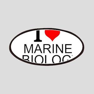 I Love Marine Biology Patch
