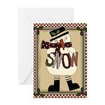 Snow Card Greeting Cards