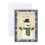 Flaky Friends Greeting Cards (Pk of 10)
