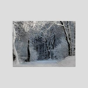 Winter 5'x7'Area Rug