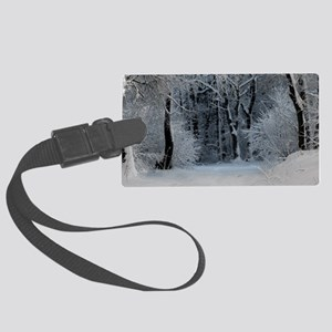 Winter Large Luggage Tag
