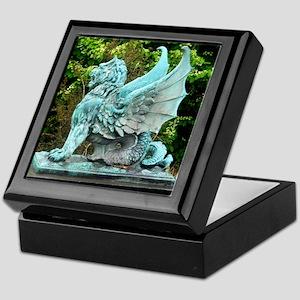 Dragon, art photo, Keepsake Box