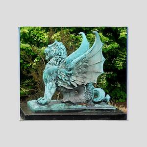 Dragon, art photo, Throw Blanket