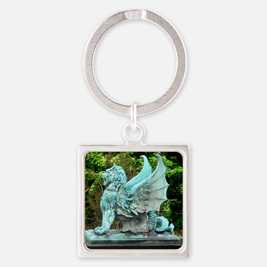 Dragon, art photo, Keychains
