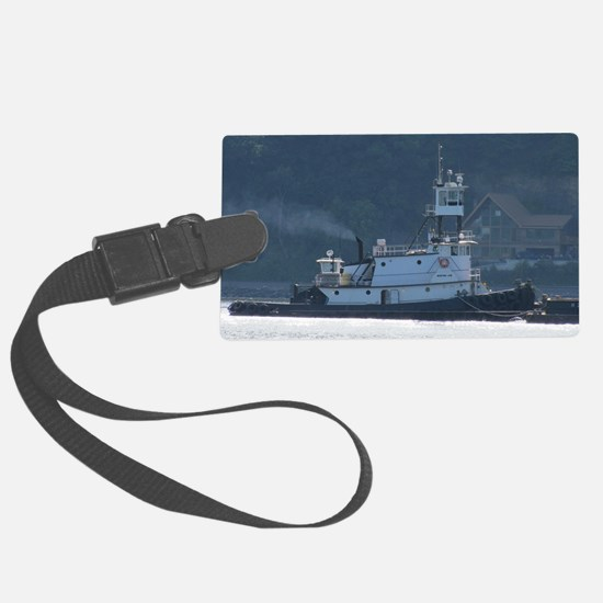 Tug Mister Jim Luggage Tag