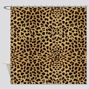 Leopard Animal Print Shower Curtain