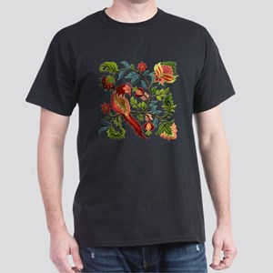 Jacobean Embroidery Dark T-Shirt