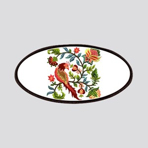 Jacobean Embroidery Patch
