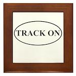 Track On Framed Tile