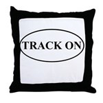 Track On Throw Pillow