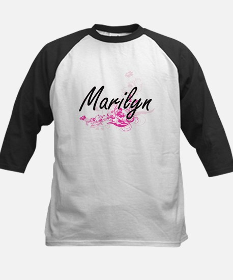 Marilyn Artistic Name Design with Baseball Jersey