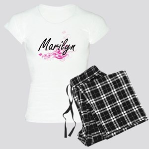Marilyn Artistic Name Desig Women's Light Pajamas