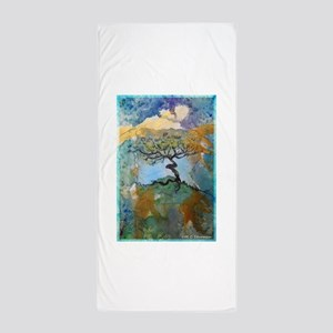 tree ! tree of life, art! Beach Towel