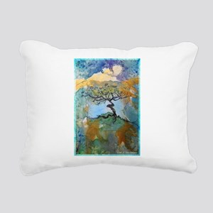 tree ! tree of life, art! Rectangular Canvas Pillo