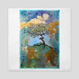 tree ! tree of life, art! Queen Duvet