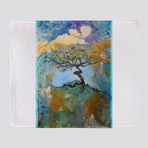 tree ! tree of life, art! Throw Blanket