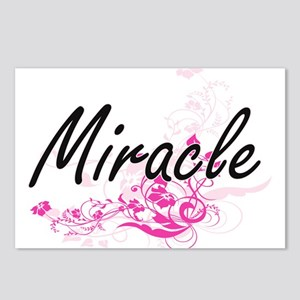 Miracle Artistic Name Des Postcards (Package of 8)
