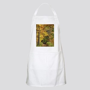 Autumn Trail Scenery Apron