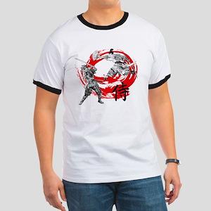 Samurai Warriors Ringer T