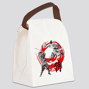 Samurai Warriors Canvas Lunch Bag