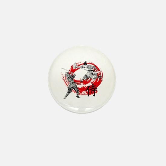 Samurai Warriors Mini Button