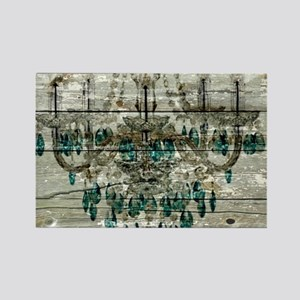 shabby chic barn vintage chandelier Magnets